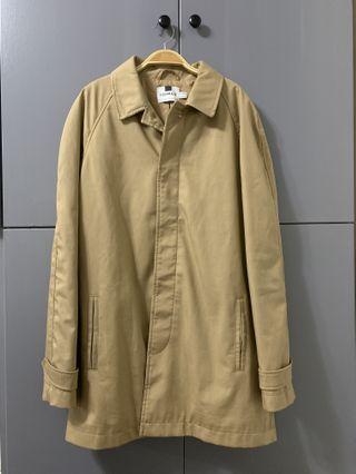 中性 駝色大衣 風衣外套