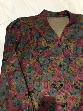 古著花系列襯衫