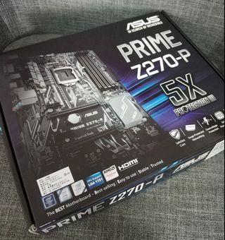全新庫存 intel i5 6500 CPU PRIME Z270-P 1151