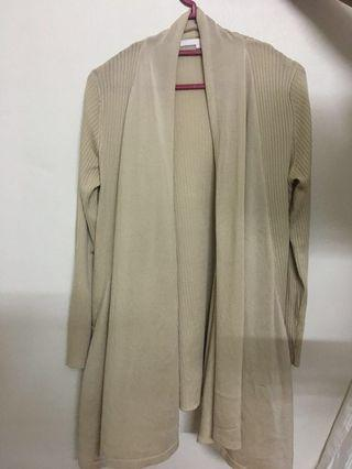 Nude Long Cardigan