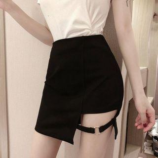 🆕🇰🇷🇨🇳 uk8 black sexy skirt