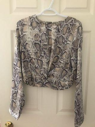 M Boutique Snake Top