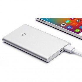 Xiaomi Powerbank 5000mAh SILVER (100% ORIGINAL)