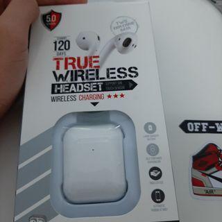 bluetooth earphones can nego ( wireless charging)