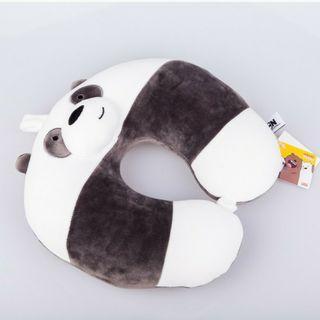 熊熊遇見你頸枕+眼罩 miniso