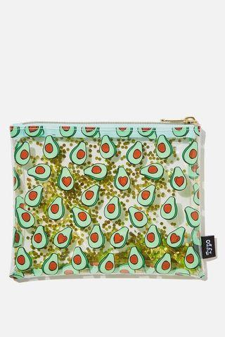 Typo Avocado Pencil Case