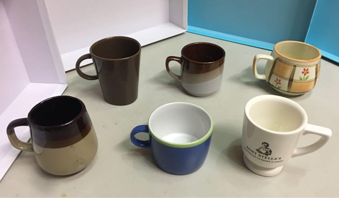 6個不一樣的馬克杯