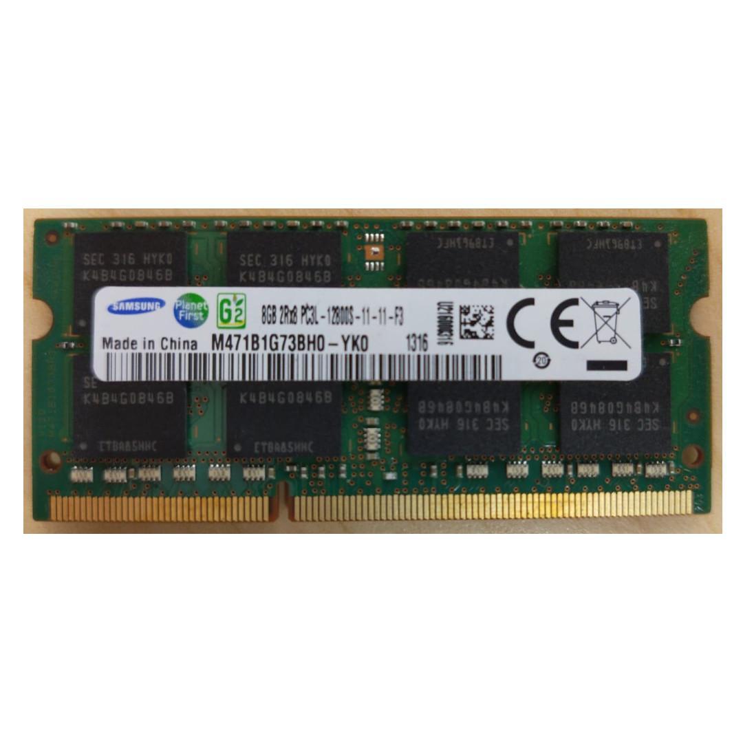 M393B5673EH1-CH9 Samsung 2GB PC3-10600R DDR3-1333 REG 2RX8 Memory Module*Pulled*