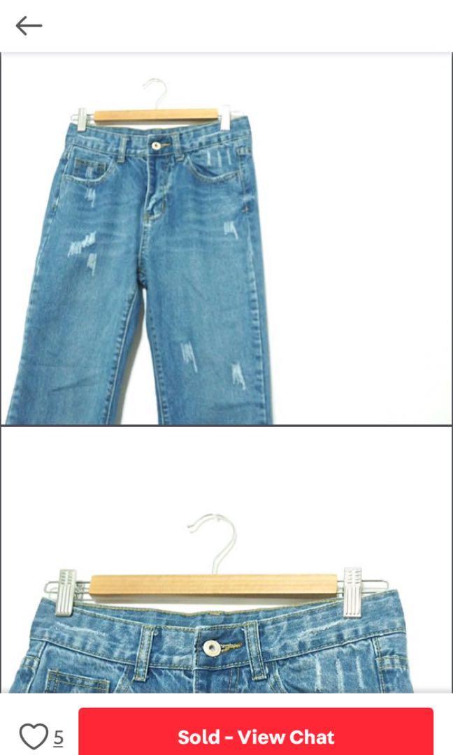 經典百搭牛仔褲(圖取原購入賣家)