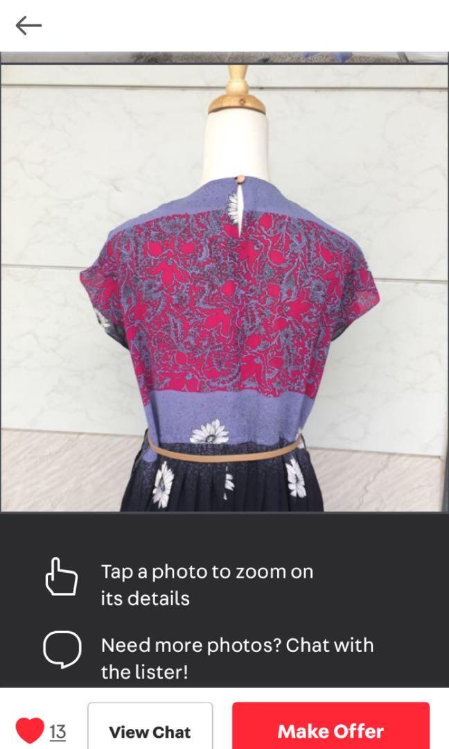 古著洋裝(圖取原購入賣家)