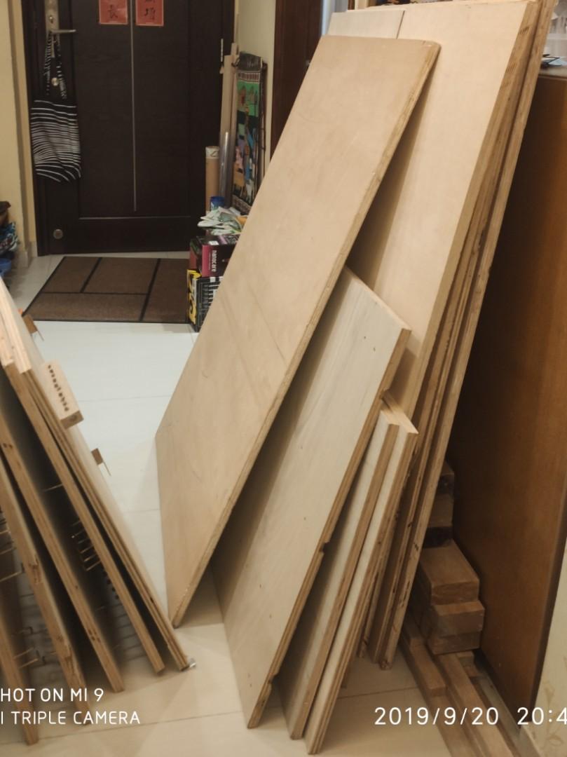 🔥收🔥大量免費乾淨木夾板or木條