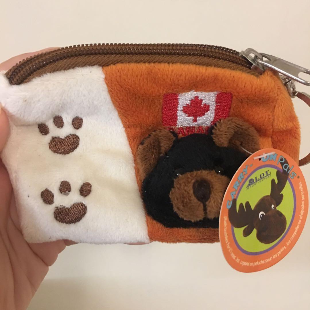 🇨🇦加拿大 小熊零錢包