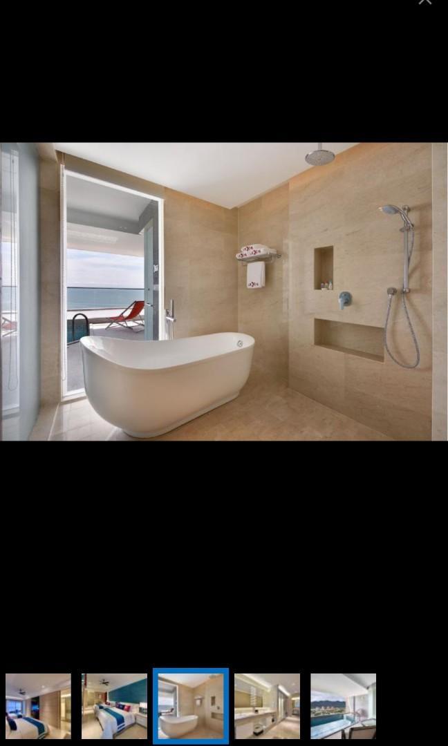 馬來西亞 檳城 五星級 酒店房five star hotel room voucher, premium  pool suite, 89 meter square