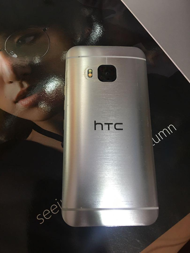 二手手機 HTC宏達電 8成新 HTC ONE M9 64G 5吋香檳金色 2000萬畫素408萬前鏡頭 誠可議價