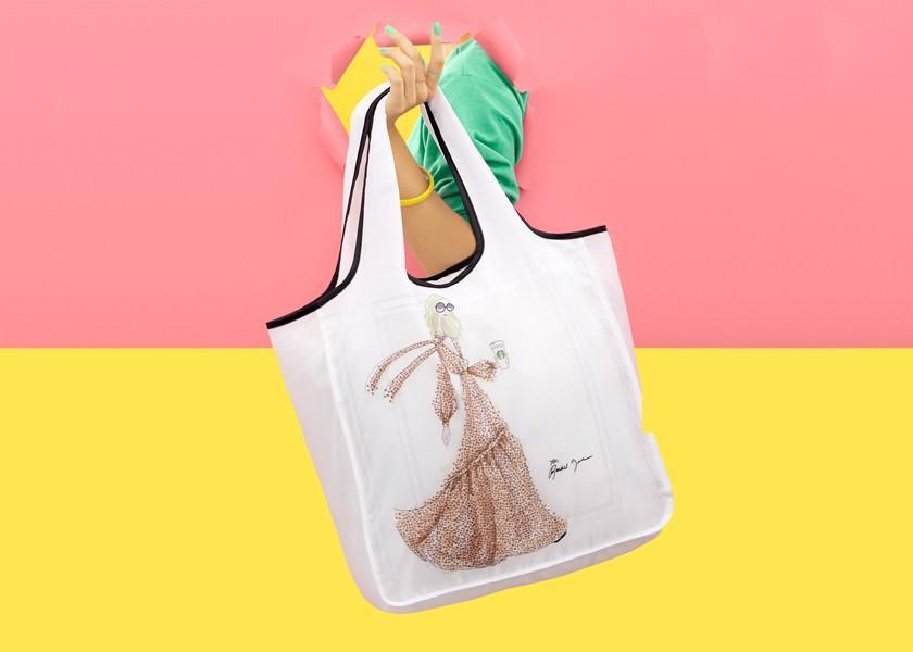 🆕 Starbucks X Rachel Zoe Limited Edition Tote Bag