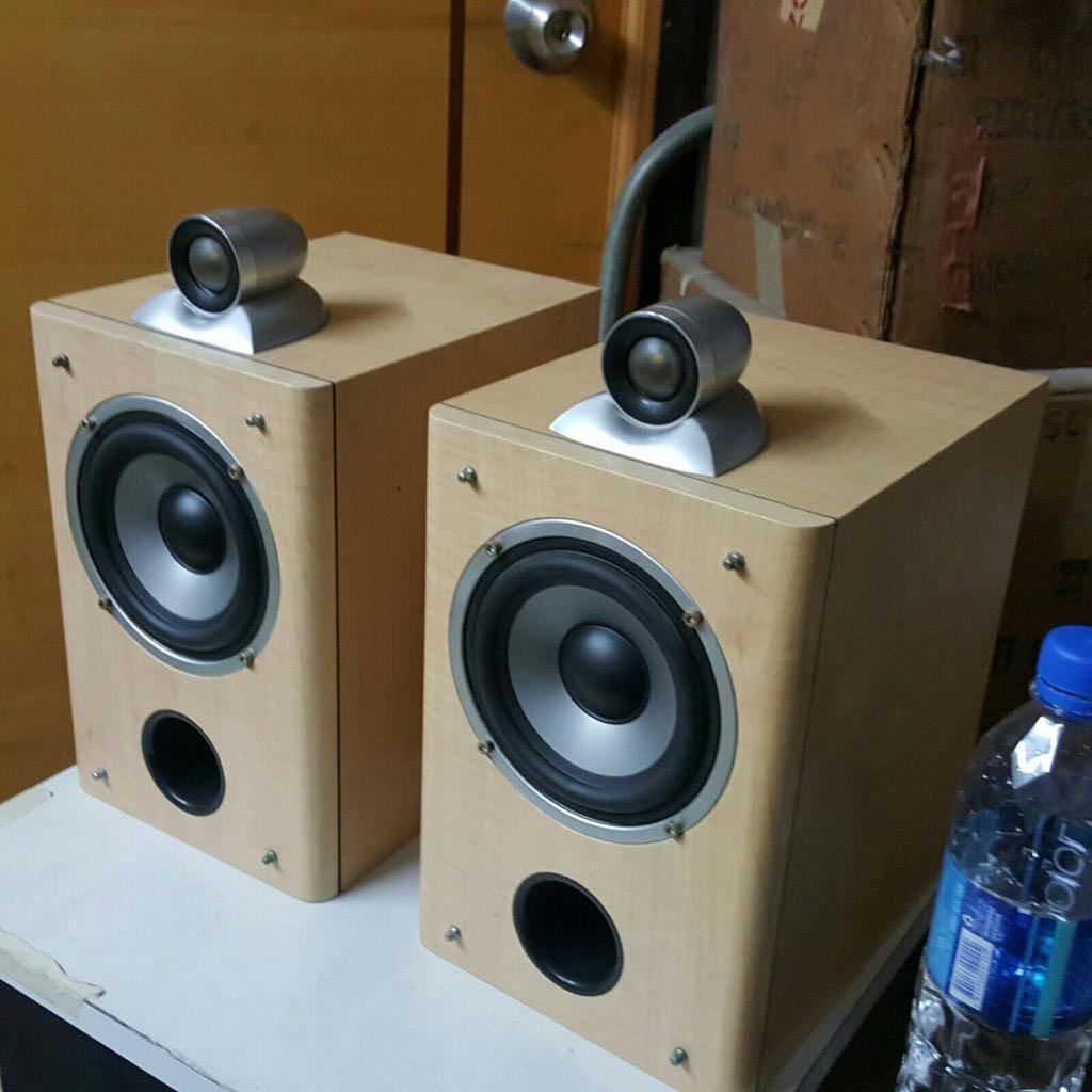 (銅鑼灣Causewaybay)高質 Timbre靚聲喇叭一對 具鸚鵡高音Speaker