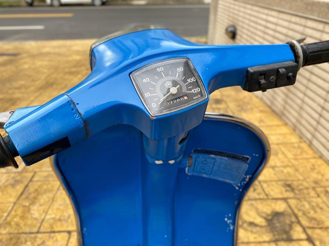 偉士牌 Vespa 狐狸 Fox125 消光藍