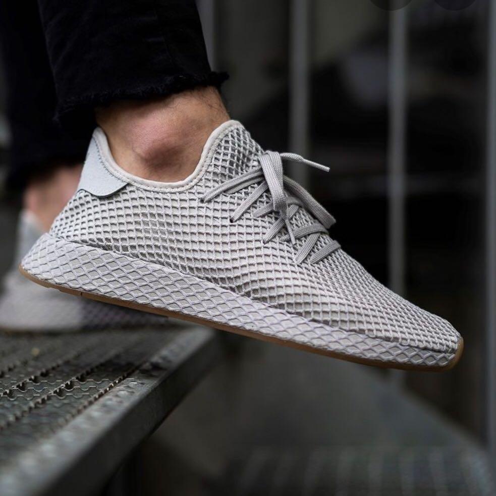 Adidas Deerupt Light Grey Runner, Women