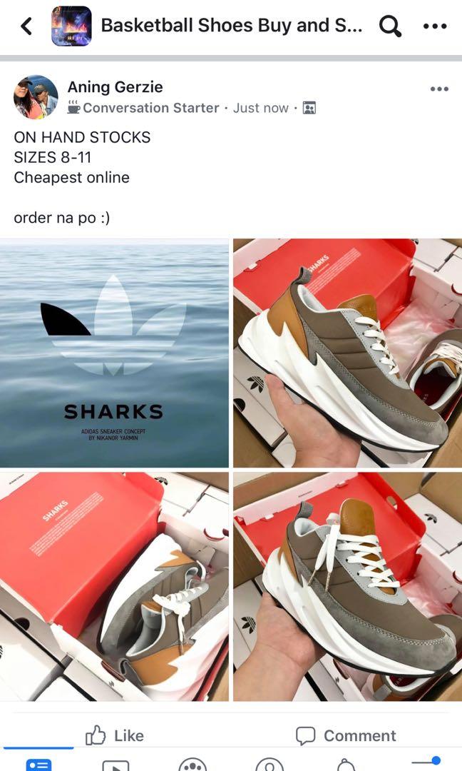 Adidas Shark Boost OEM, Men's Fashion