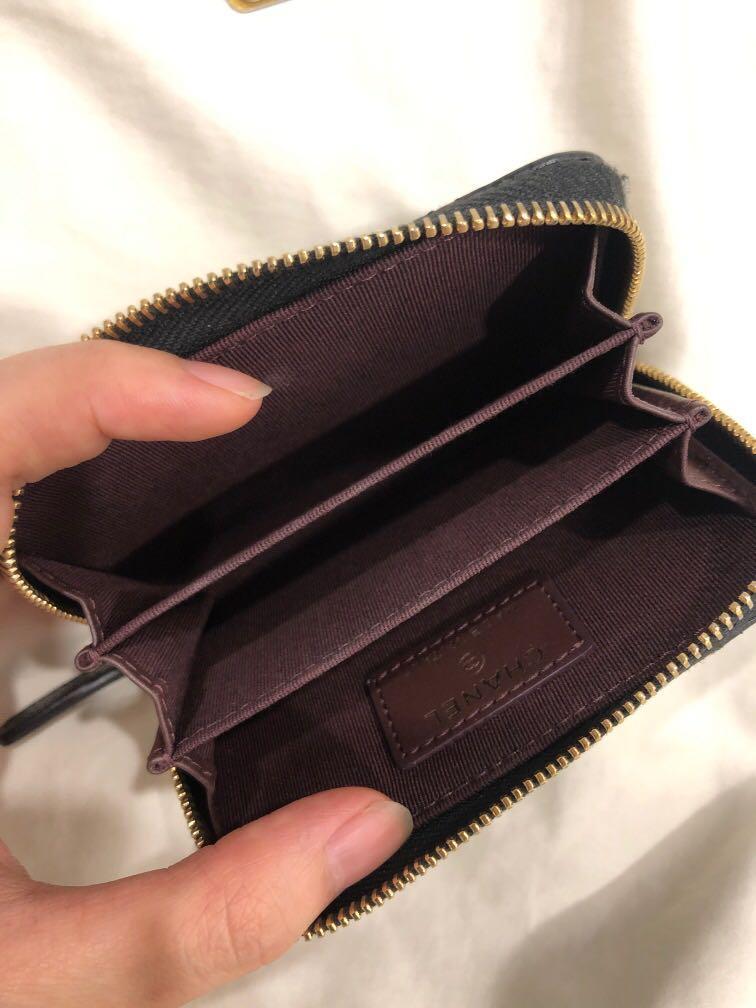 Authentic Chanel Zippy Cardholder