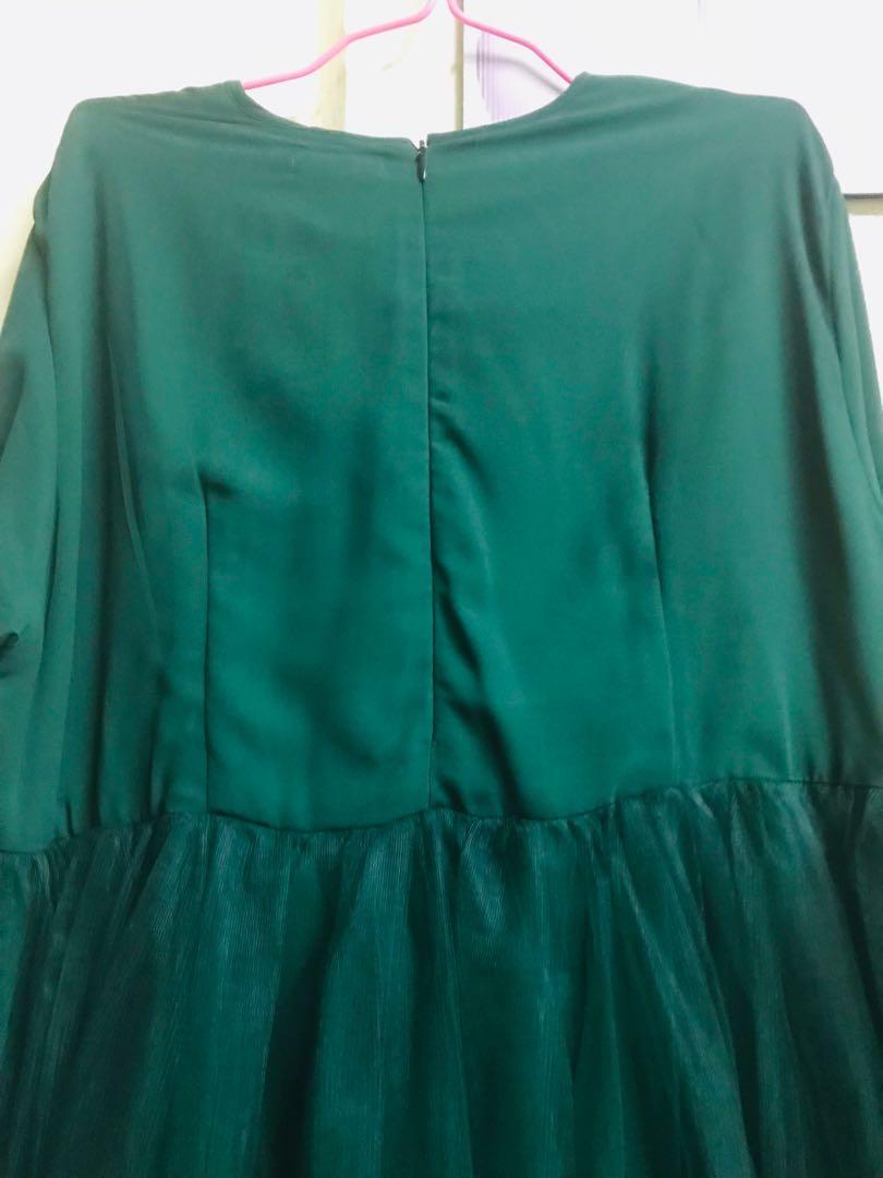 Baju pengantin plus size (sanding) perempuan