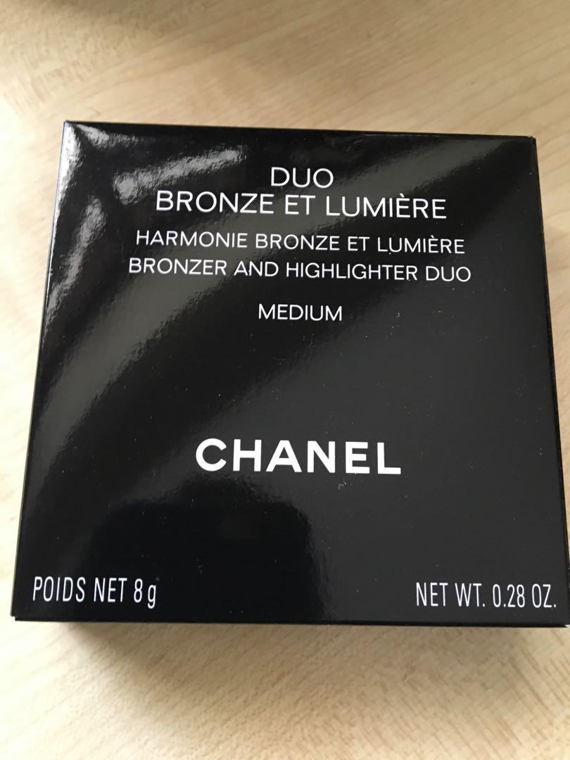 BNIB Chanel Duo Bronzer/Highlighter