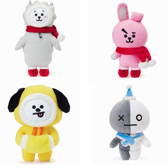 BTS BT21 Christmas Version Plush Toy Stuffed Doll Kpop Mini Gift BTS Army