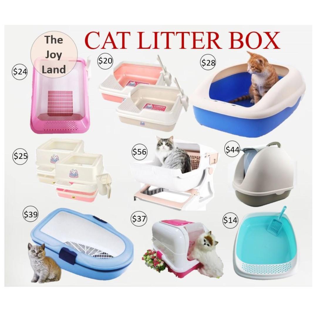 Cat Litter Box / Extra Large Cat Litter Box / Litter Box / Pet Litter Box Variety Design Litter Box