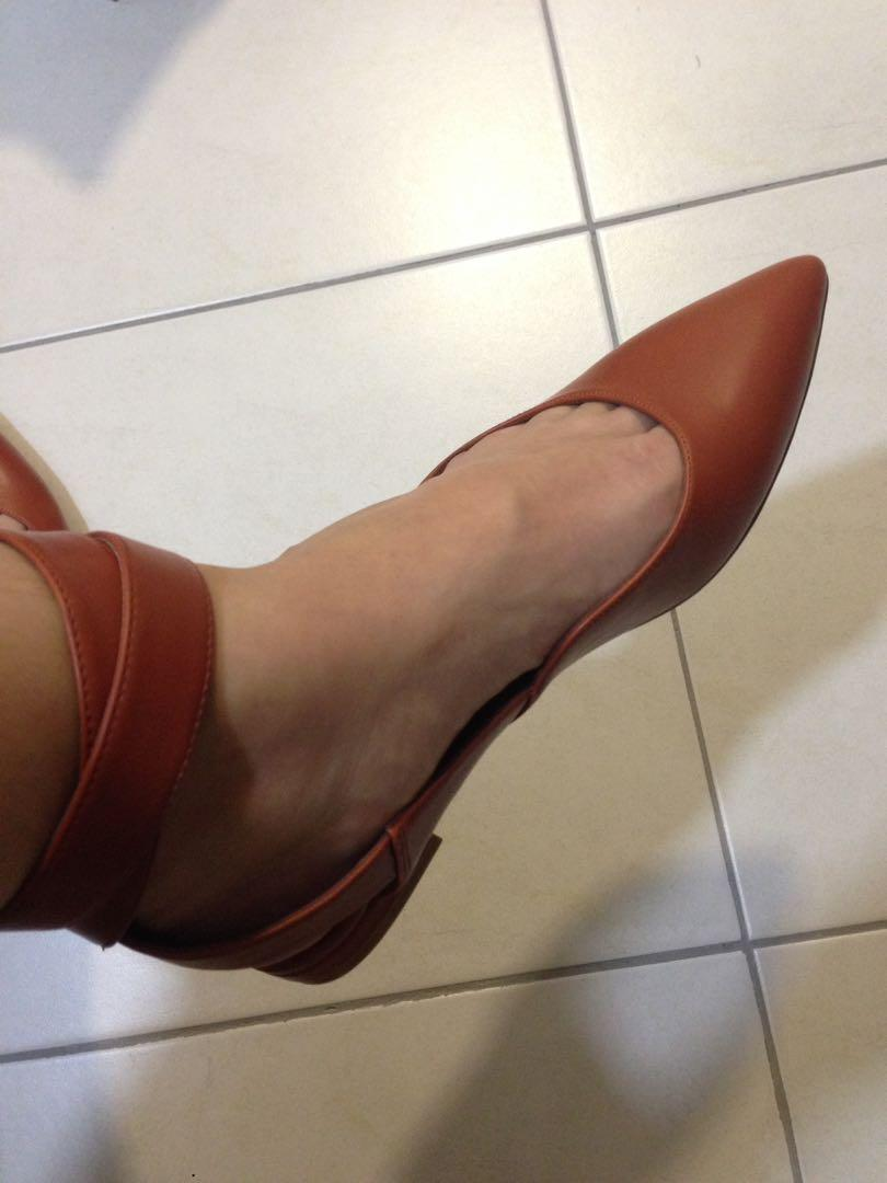 Charles & Keith Ankle Strap Shoes