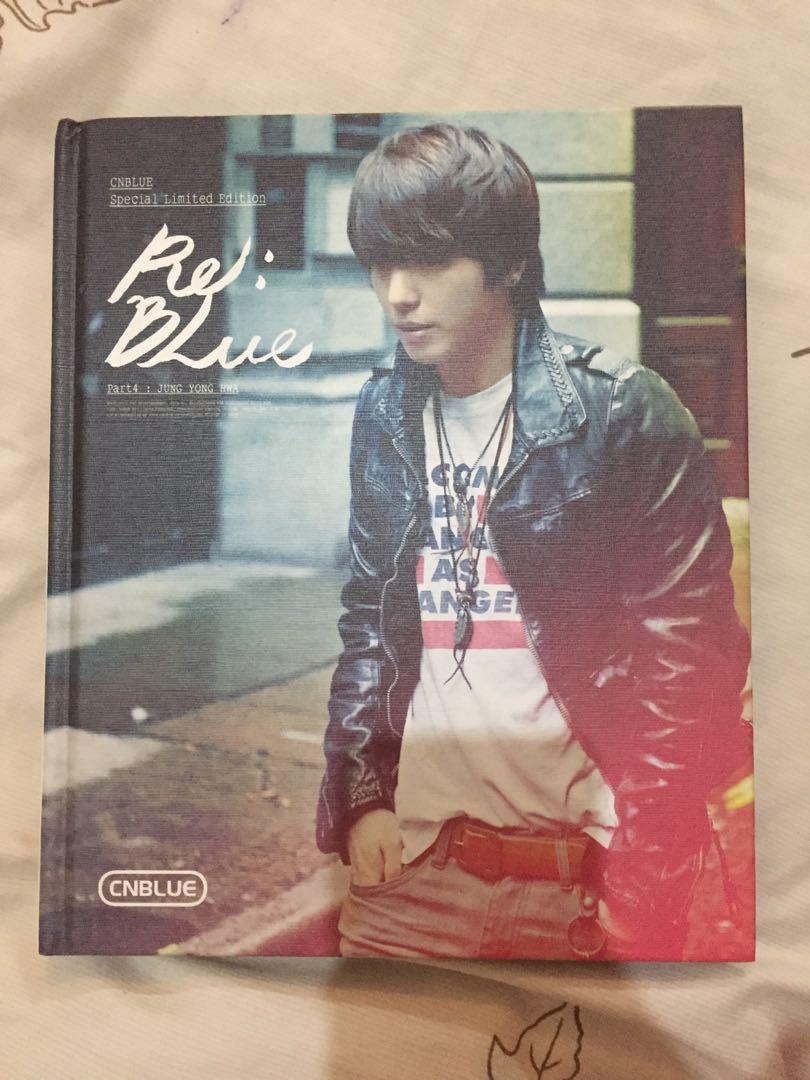 CNBLUE Special Limited Edition Re: Blue Jung Yong Hwa