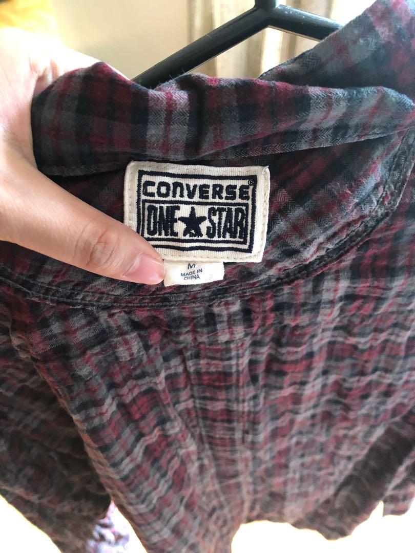 Converse Checkered Polo