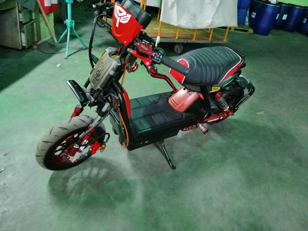 Electric bike..