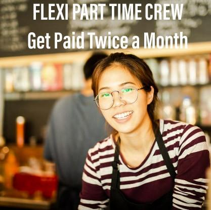 Flexi Part Time Service Crew / Cook