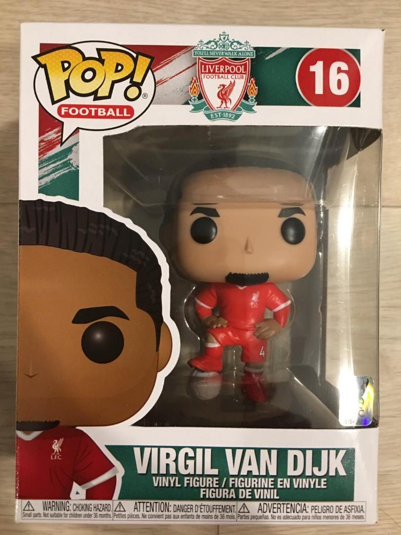 Virgil van Dijk-Liverpool Funko POP VINILO