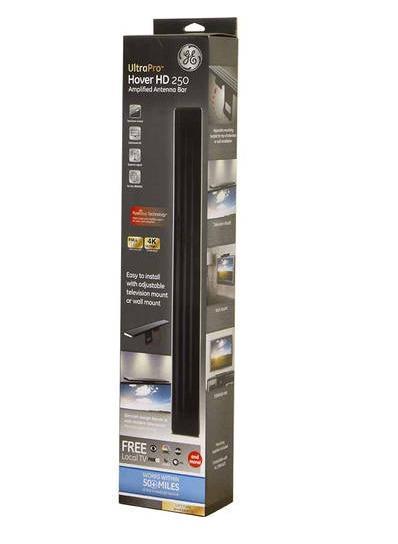 GE UltraPro Hover Bar Indoor 4K 1080p TV Antenna (50 miles)