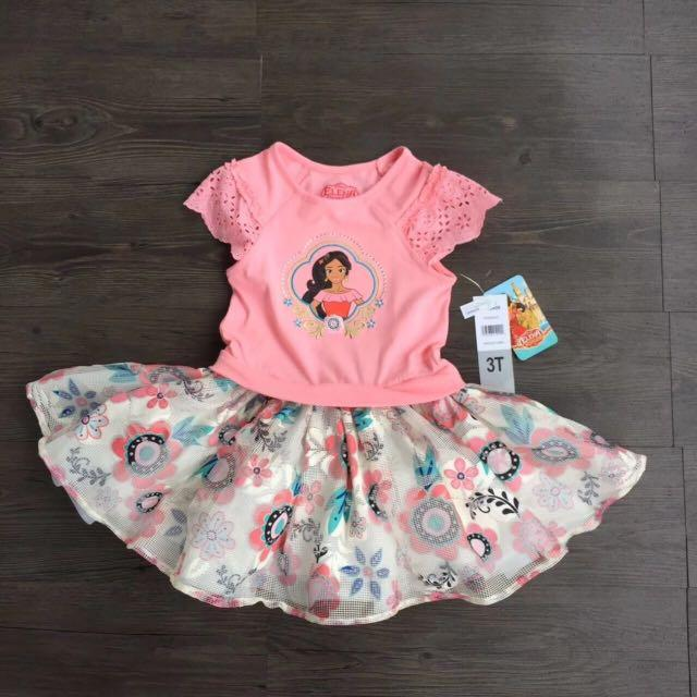 Disney Girls Elena 2 Piece Skirt Set