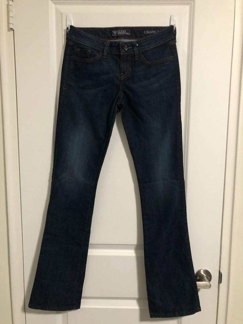 "Guess Jeans - ""Brittney Boot"" med/dark wash, size 26"