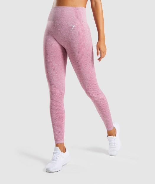 Gymshark Vital Seamless Leggings in  Dusty Pink Marl