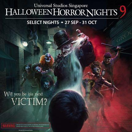 Halloween Horror Nights 9 (HHN9) @ USS