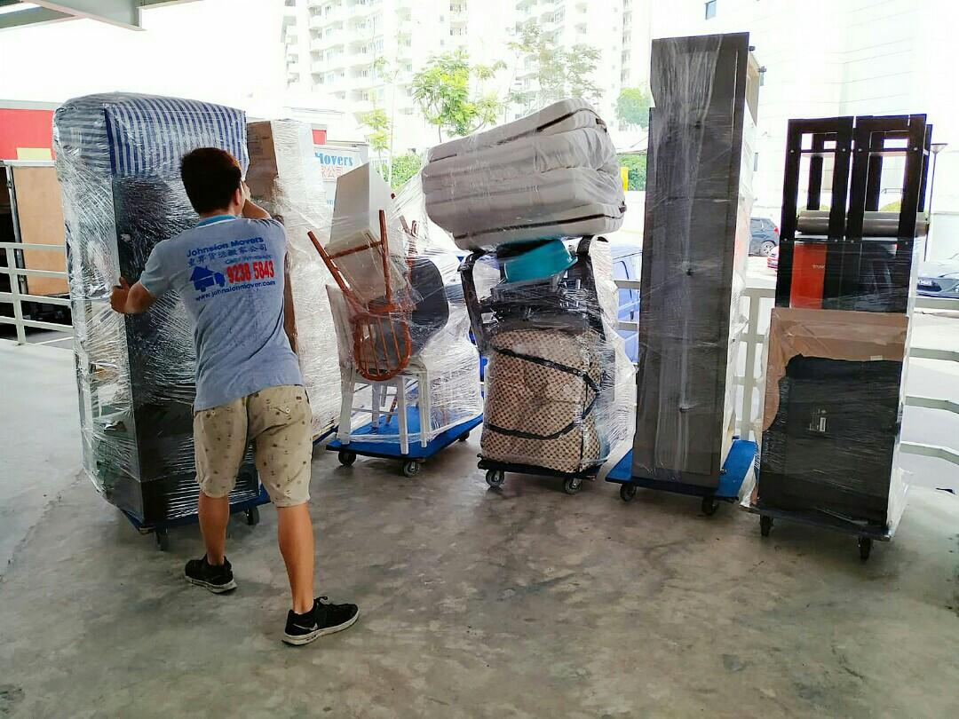 House moving services call 92385843 JohnsionMover