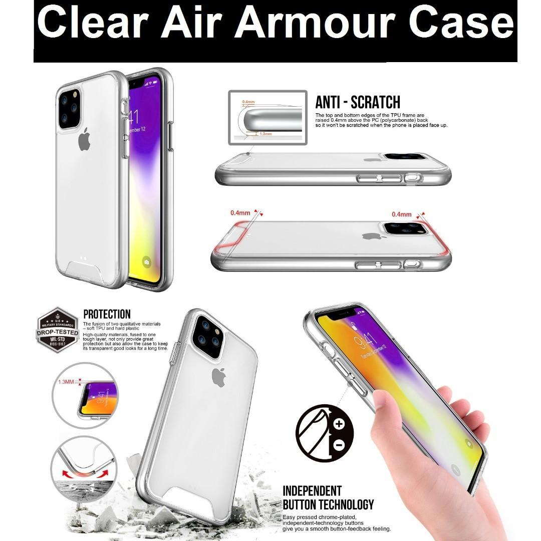 iPhone 11 / iPhone 11 Pro Max Clear Air Armour Phone Case