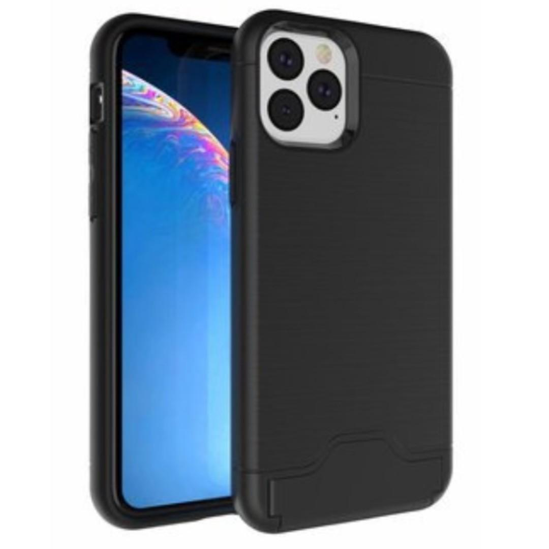iPhone 11 / iPhone 11 Pro Max Card Armour Phone Case