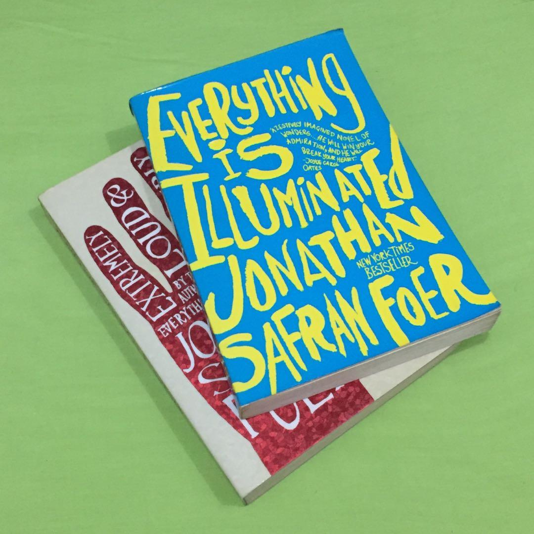 Jonathan Safran-Foer set: Extremely Loud & Incredibly Close + Everything is Illuminated