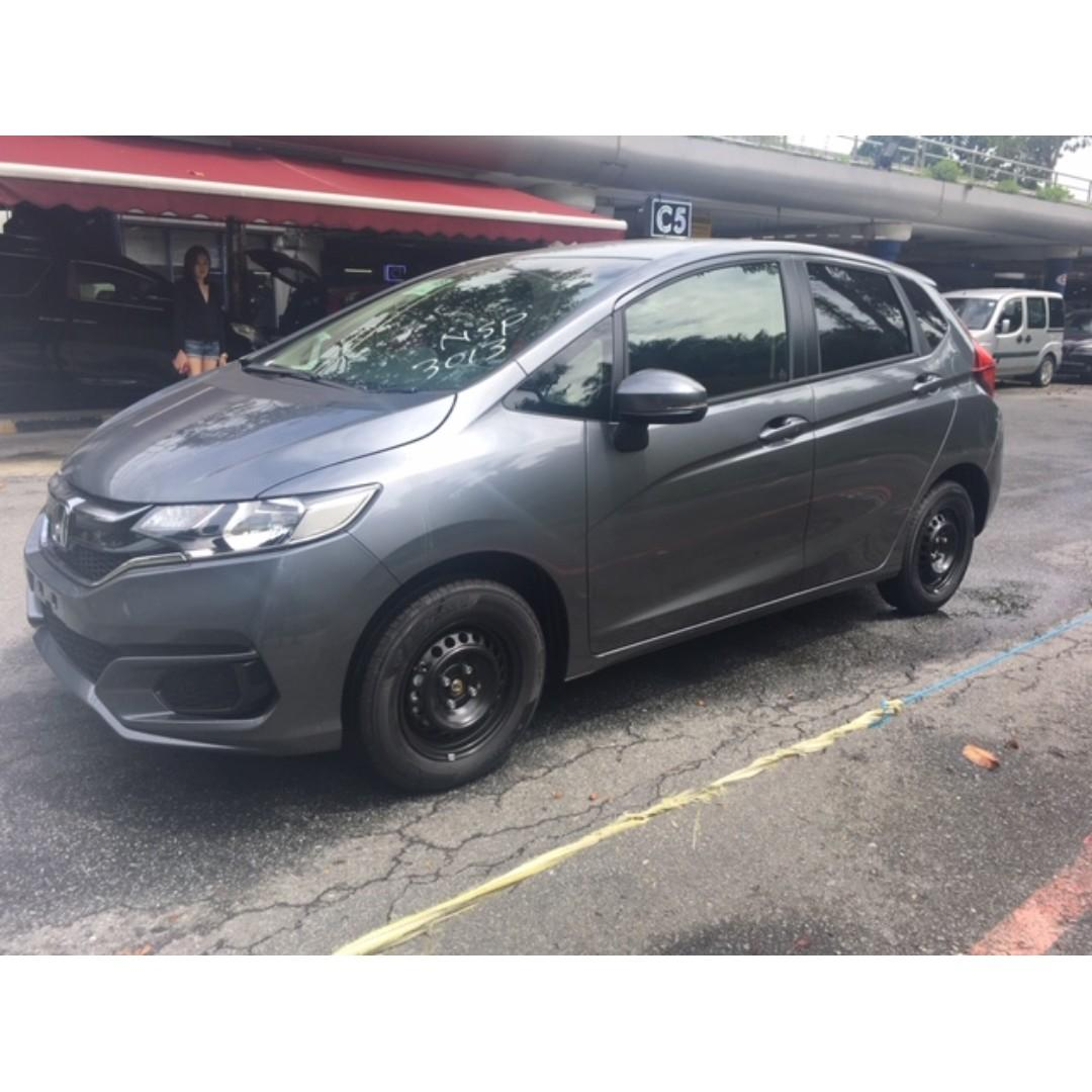 September' 2019 BRAND NEW HONDA FIT 1.3A GF FROM JAPAN