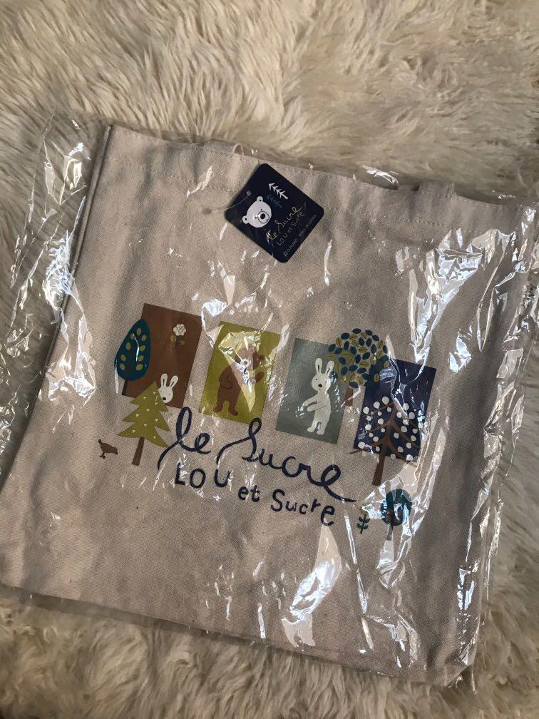 Le Lucre Lou Er Sucre 帆布袋