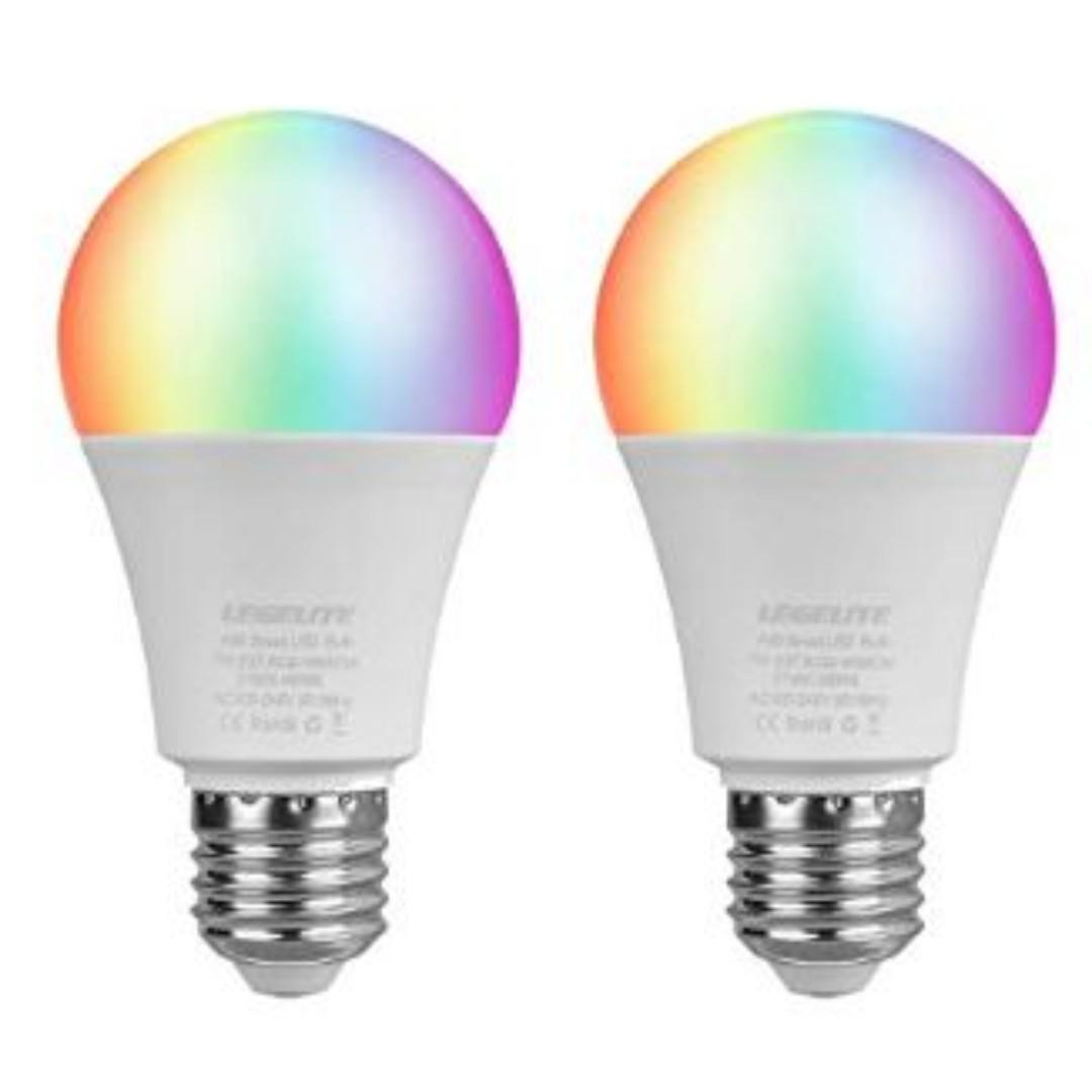 E27 7W WiFi Smart Bulbs 2700K to 6500K Dimmable 1 LEGELITE LED Smart Light Bulb