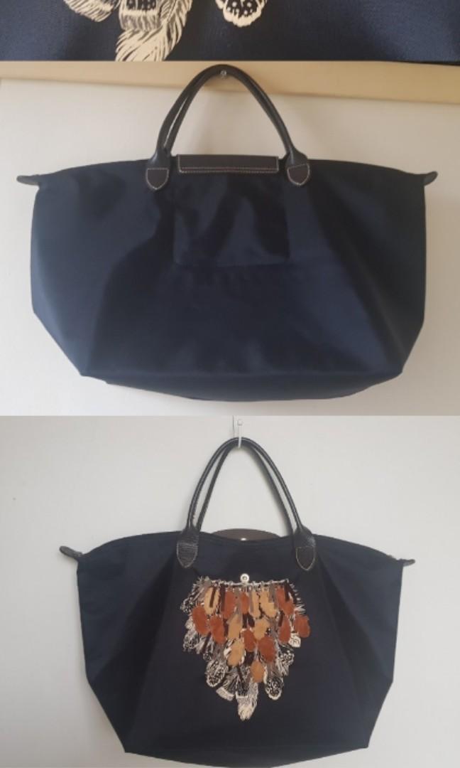 Longchamp limited edition Authentic