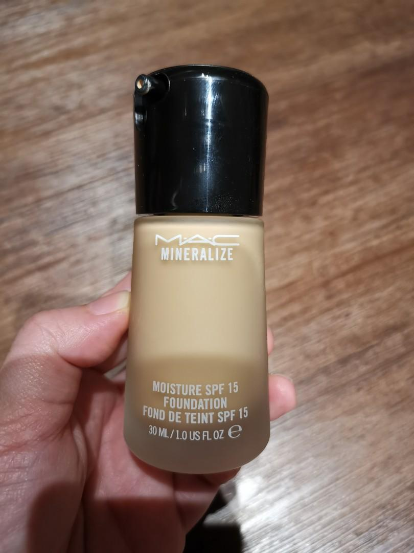 Mac Mineralize Foundation Nc25 Health Beauty Makeup On Carousell