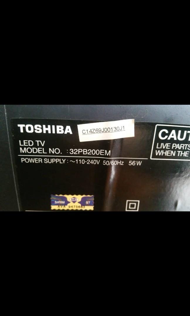 Mainboard Toshiba LED TV