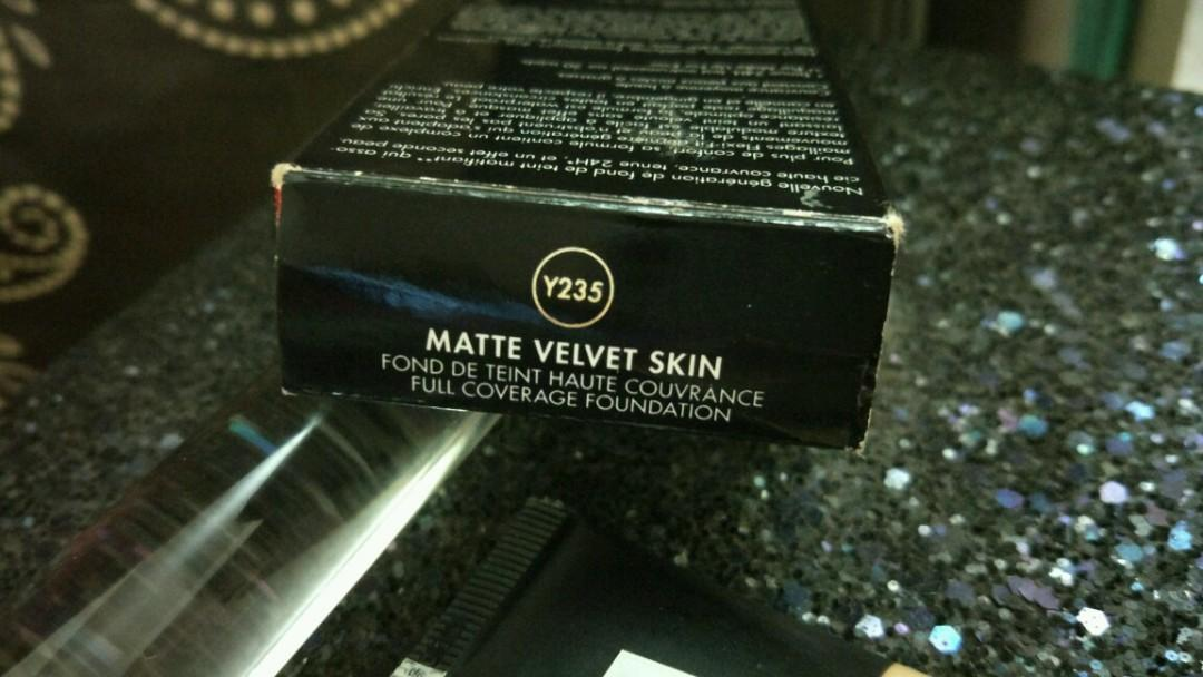 Make up forever matte velvet skin foundation